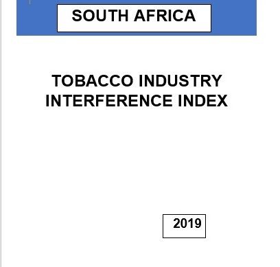 Damning report released on South African tobacco industry interference in tobacco control