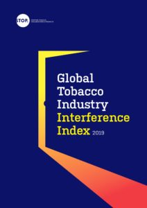Global Tobacco Industry Interference Index launched