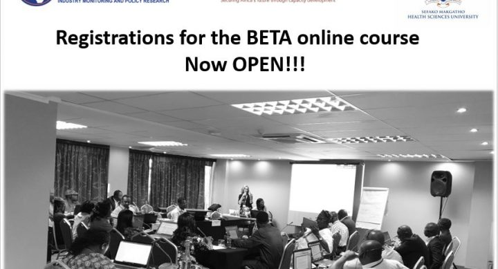 THE AFRICA CENTRE FOR TOBACCO INDUSTRY MONITORING AND POLICY RESEARCH (ATIM): CALL FOR REGISTRATIONS FOR ONLINE TOBACCO INDUSTRY MONITORING COURSE